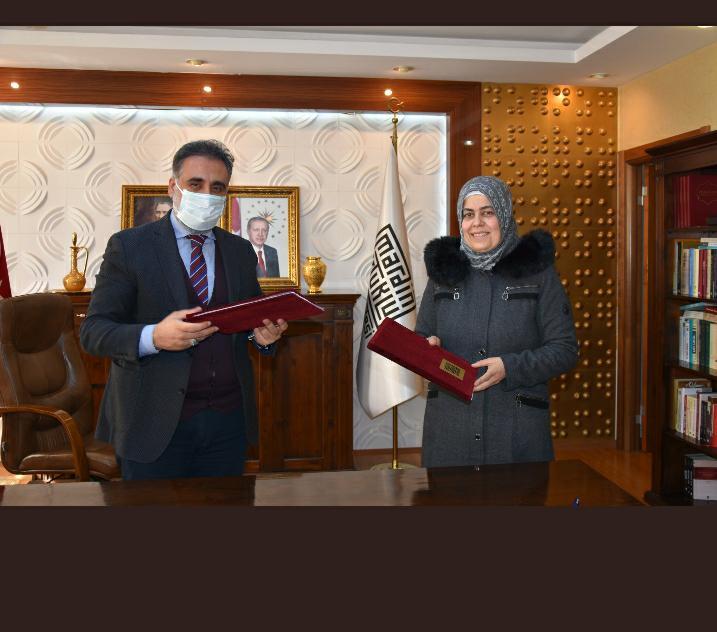 MAÜ, Özgür Halep Üniversitesi ile İşbirliği Protokolü İmzaladı