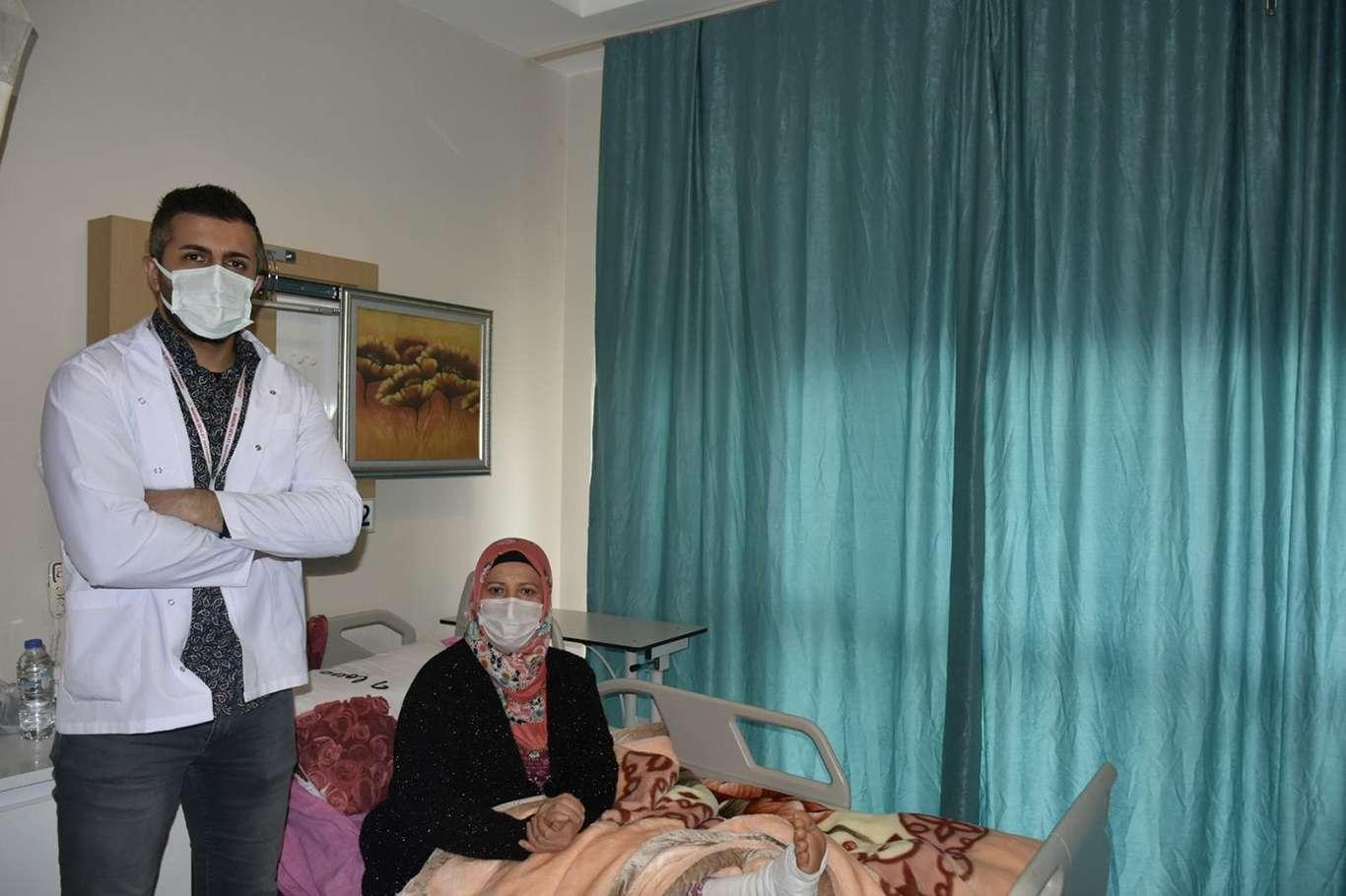 Mardin'de ilk kapalı artroskopik ameliyatı yapıldı