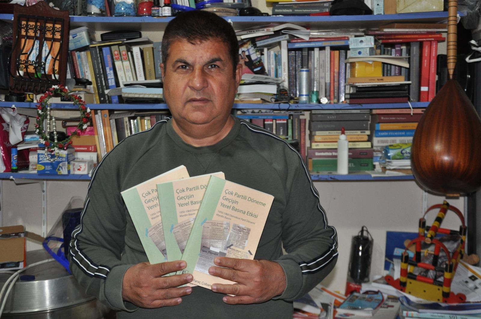 Çobanoğlu, Mardin Basın Tarihinin kitabını yazdı