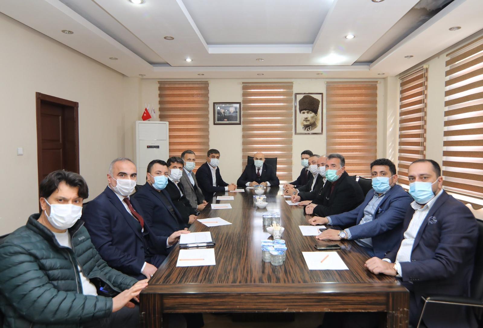 Vali Demirtaş Başkanlığında OSB Müteşebbis Heyeti Toplantısı Yapıldı